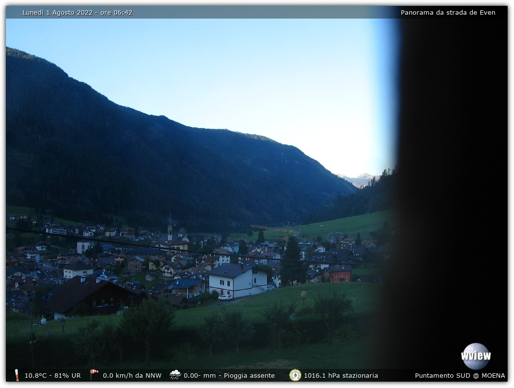 Webcam Meteo Moena